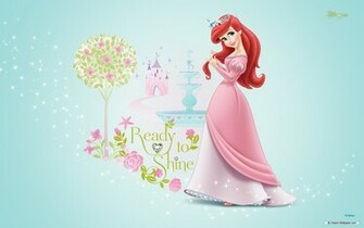 Disney Princess Ariel Pink