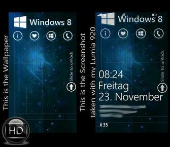 Windows Phone 8 Wallpaper HD by MSP1906