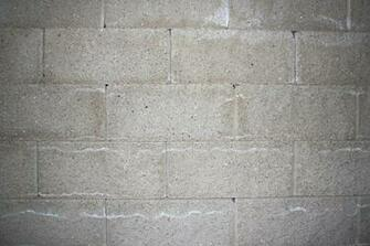 Gray Concrete or Cinder Block Wall Texture Picture Photograph