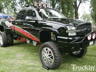 Lifted Chevy Truck Wallpaper Lifted chevy silverado
