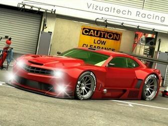 3D Chevrolet Camaro race car wallpaper   Carlogosorg