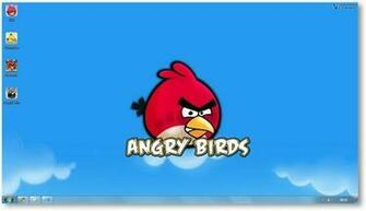 angry birds theme with high resolution wallpapers sound and icons