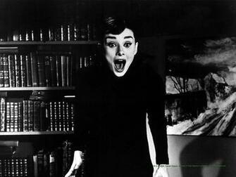 Audrey Hepburn Screaming Wallpapers HD