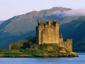 Eilean Donan Castle Near Dornie Scotland Screensaver Screensavers
