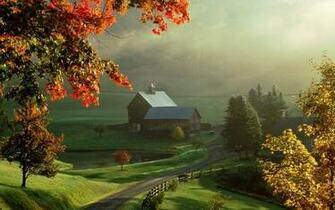Farm House Wallpaper 1280x800