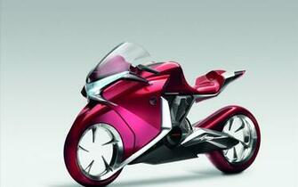 Honda V4 Concept Widescreen Bike Wallpapers HD Wallpapers