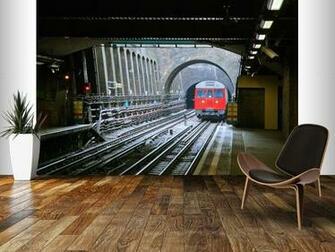 Underground Train Wall Mural London Underground Train Wallpaper