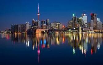 Toronto Canada Hd Desktop Wallpaper High Definition Mobile Picture