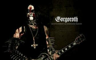GORGOROTH black metal heavy hard rock band bands groups group concert