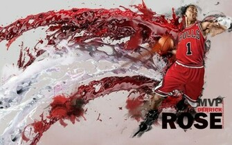Derrick Rose Wallpaper A Red Red Rose NBA Picture Gallery