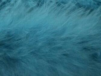 Sky Blue Faux Fur or Feathers by SweetSoulSister