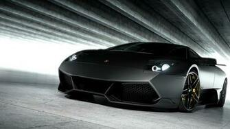 Cars Lamborghini Wallpaper 1920x1080 Cars Lamborghini Matte Black