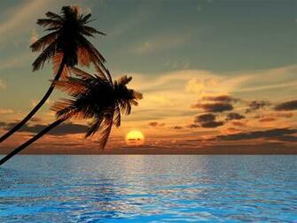 Sunset Beach Wallpapers