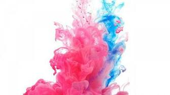 Flying Paint flying paint Holi colors Blue wallpapers Color