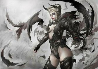 demon girl Wallpaper Background 29202