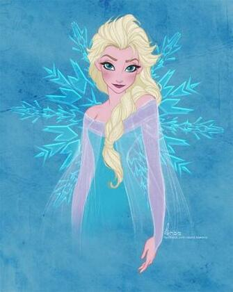 Disneys FROZEN   Elsa by David Kawena by davidkawena