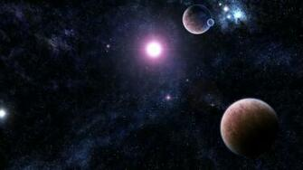 Download Wallpaper 1366x768 galaxy stars universe light planet