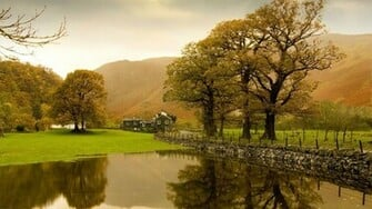 English countryside wallpaper 4249