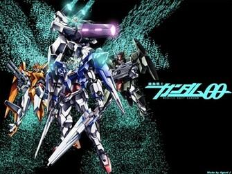 gundam double o season two   Gundam 00 Wallpaper