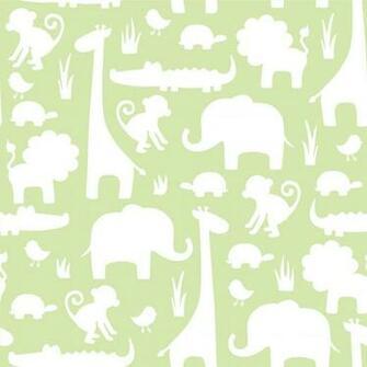 NuWallpaper Its A Jungle Peel Stick Wallpaper in Green