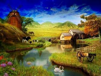 Farm Wallpaper  yvt2