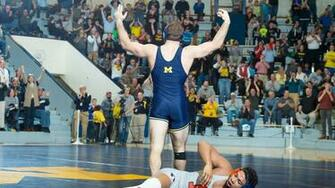 Max Huntley   Wrestling   University of Michigan Athletics