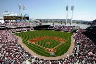 SkyBox Sports Scenes Cincinnati RedsGreat American Ballpark