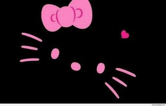 Black Hello Kitty Wallpapers   Top Black Hello Kitty