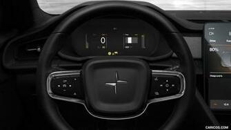 2020 Polestar 2   Interior Steering Wheel HD Wallpaper 14