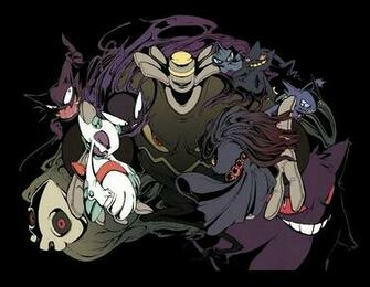 Ghost Type Pokemon Wallpaper Ghost pokemon