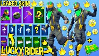 How To Draw Fortnite Lucky Rider Skin Youtube   Ballersinfocom