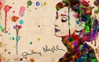 Audrey Hepburn Wallpaper by haueryou