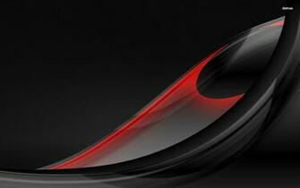 Download Black And Red Feather Abstract Wallpaper 1920x1200 Full HD