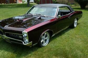 Download Related Pictures 1967 pontiac gto wallpaper red convertible
