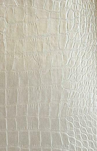 Greator Gator Vinyl Wallcovering Faux Alligator Skin wallcovering in