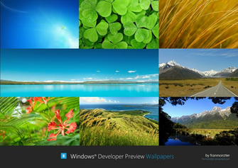 Windows Developer Preview Wallpapers by arcticpaco