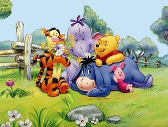 pooh friends   Classic Disney Wallpaper 8414073