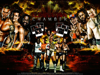 download WWE Elimination Chamber 2010 2012 Wallpaper by