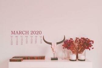 March 2020 Calendar Wallpaper For Desktop Laptop iPhone