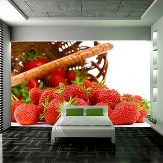 Fruit Wallpaper For Kitchen Backdrop Wallpaper Kitchen