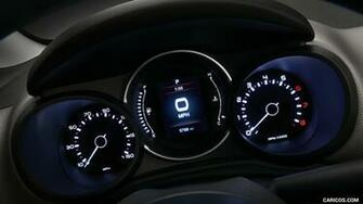 2019 Fiat 500L   Instrument Cluster HD Wallpaper 8