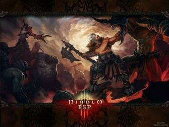 Diablo 3   Barbarian Wallpaper by Lythus