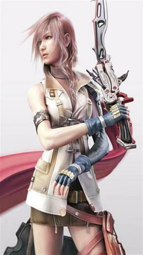 Final Fantasy XIII and Lightning Game iPhone Wallpapers iPhone 5s4