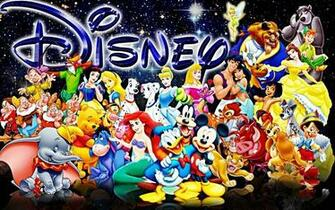 All Disney Characters Isnt this just cool Disneys got this huge