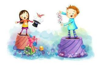 of Wallpaper drawing children girl boy animal fun tricks maps