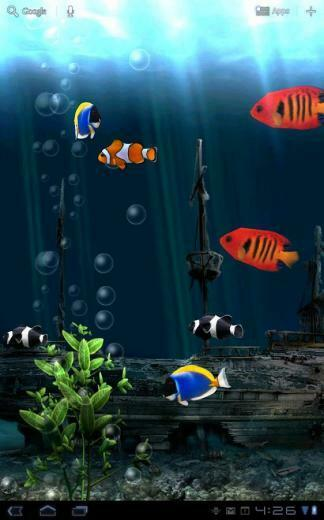 Download Aquarium Live Wallpaper to Android