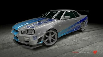 fast and furious Nissan Skyline Fast And Furious 2 Top Car Wallpaper