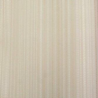 Mood Living Dot Chain Gold and White on Pale Beige Wallpaper