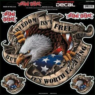 freedom isn t eagle freedom isn t no