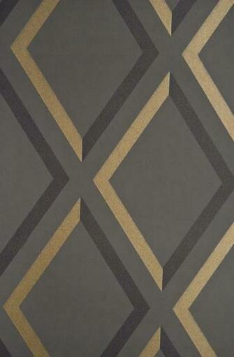 Pompeian Trellis Wallpaper Black Cole and Son Contemporary Restyled